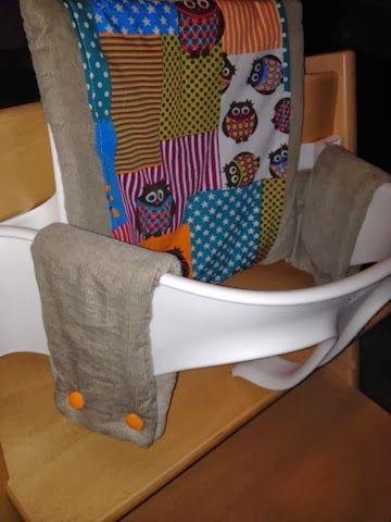 Wunderkrümel - ein kunterbunter Mami-Kreativ-Testblog: Anleitung für das Tripp Trapp Sitzkissen mit Babyset