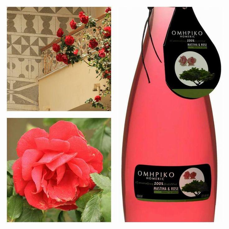 Singular #mastiha & #rose #liqueur only #Greek nature can produce! http://agoragreekdelicacies.co.uk/online-shop/4570272291/Liquors-Spirits