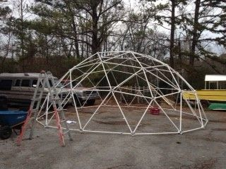Amy Boortz - Customer Reviews of Our Geodesic Greenhouse Kit - Zip Tie Domes - Geodesic Dome Kits and Greenhouse Kits for Sale