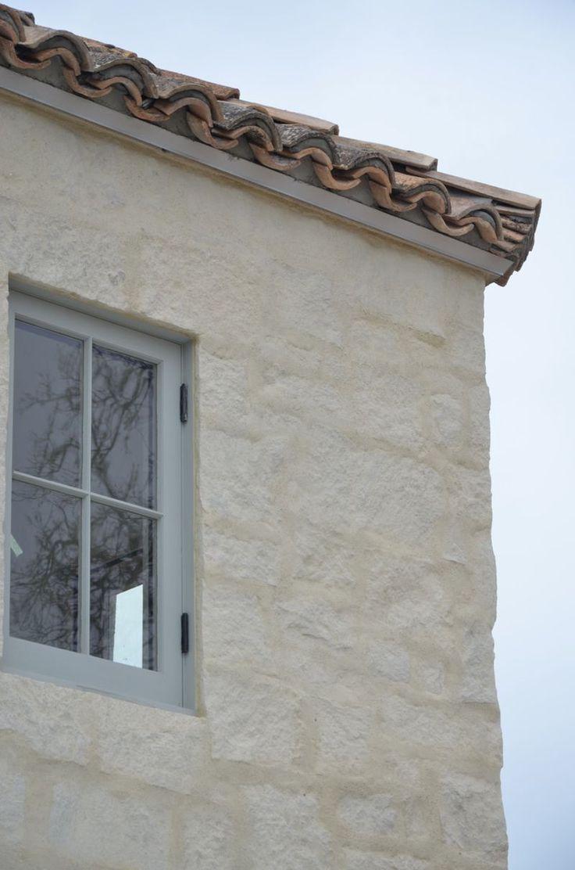 "blue gray paint on windows (similar to Farrow and Ball ""Pavilion Grey""), Velvet & Linen- Patina Farm"
