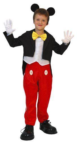 Amazon | ディズニー ミッキー キッズコスチューム 男の子 140cm-160cm 802548L | キッズコスチューム 通販