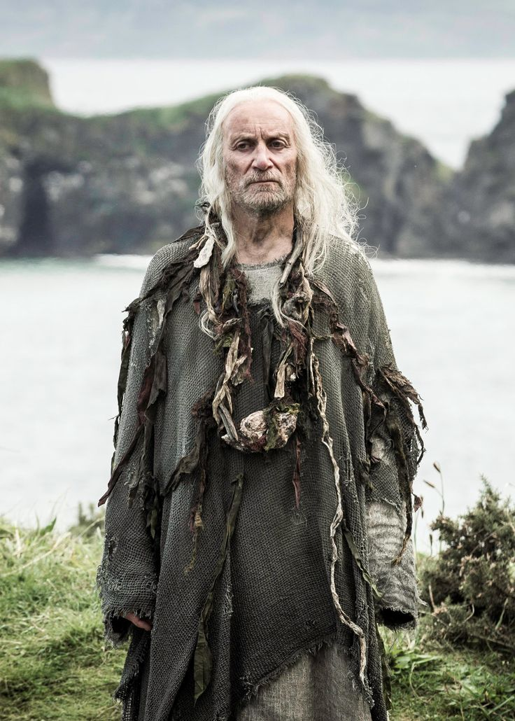 Aeron Greyjoy, aka Aeron Damphair, is the brother of Euron and Balon Greyjoy, the late head of House Greyjoy, and the former Lord Reaper of Pyke. He is also the uncle of Yara and Theon Greyjoy. He is a Drowned Man – a priest – in service to the Drowned God.