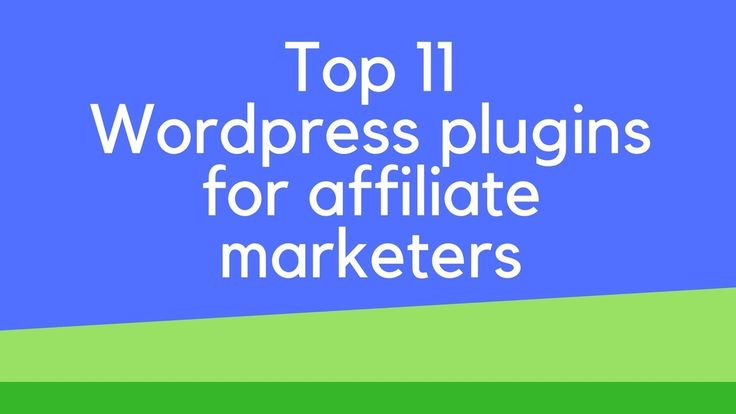 Top 11 wordpress plugins for affiliate marketers Top 11 wordpress plugins for affiliate marketers. I go through the essential plugins needed to secure your wordpress blog up your productivity for creating content easy affiliate link management social sharing and plugins which help boost your seo. For the full list in text format check out my blog post on this video here:  http://ift.tt/2Gh9FwD  If you liked this video please subscribe like comment and tick the bell for future video updates…