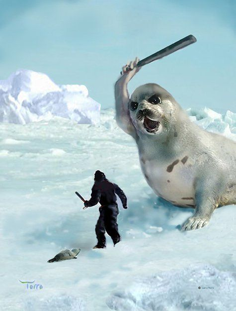 how do you like it seal killer!? #justice