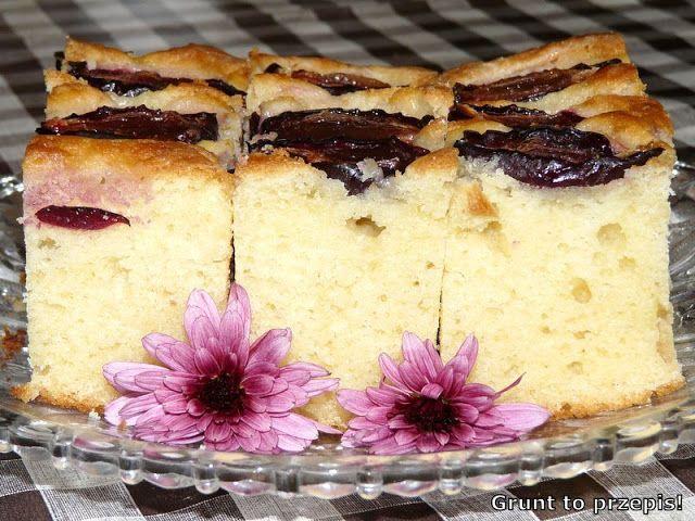 GRUNT TO PRZEPIS!: Ciasto jogurtowe ze śliwkami dla leniwych