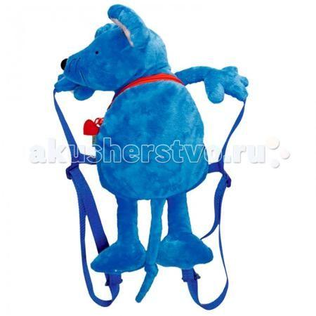 Spiegelburg Рюкзак мышка Die Lieben Sieben 10724  — 2349р. -----  Мышка Эмма серии Die Lieben Sieben в виде плюшевого рюкзака для детей. С подкладкой в горошек. Рекомендована, ручная стирка. Два плечевых регулированных ремня, одно отделение на молнии.  Особенности:  Размер: 40 см