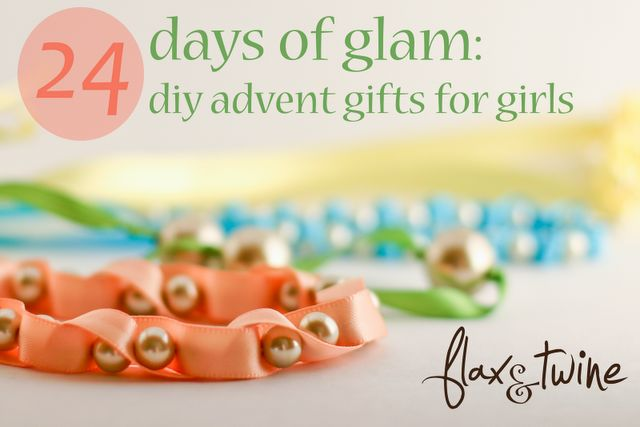 24 Days of Glam for Girls...really cute diy's. Check it out@Maureen Sprague Parzych