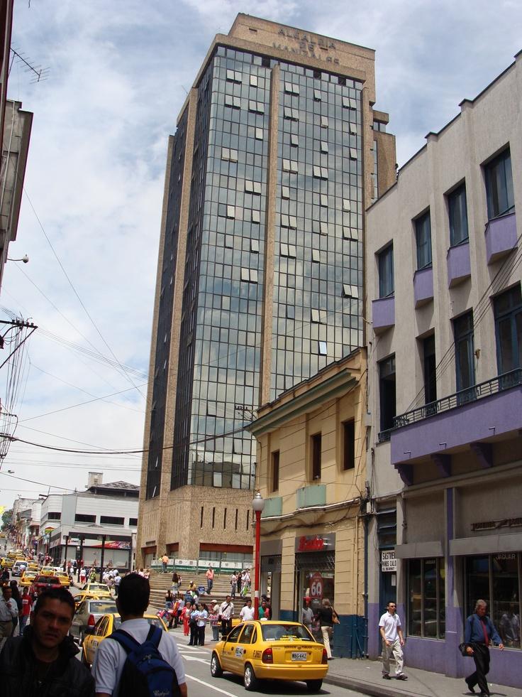 Alcaldía de la Ciudad de Manizales, localizada en la Carrera 22 entre calle 18 y 19.