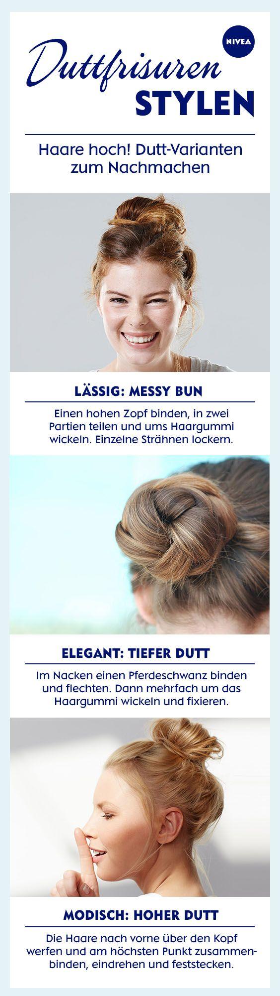 Die einfachste Lösung an Bad Hair Days? Haare hochbinden. Ob geflochten oder als Messy Bun ...