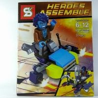 Bricks Lego Merk SY Beast / Lego Bootleg / Lego SY Heroes Assemble