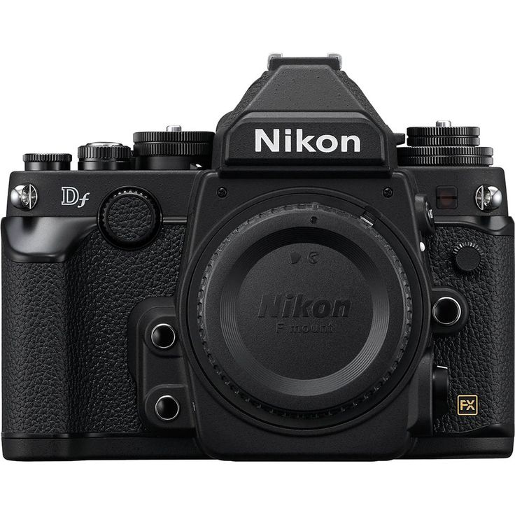 Nikon Df DSLR Camera (Black)