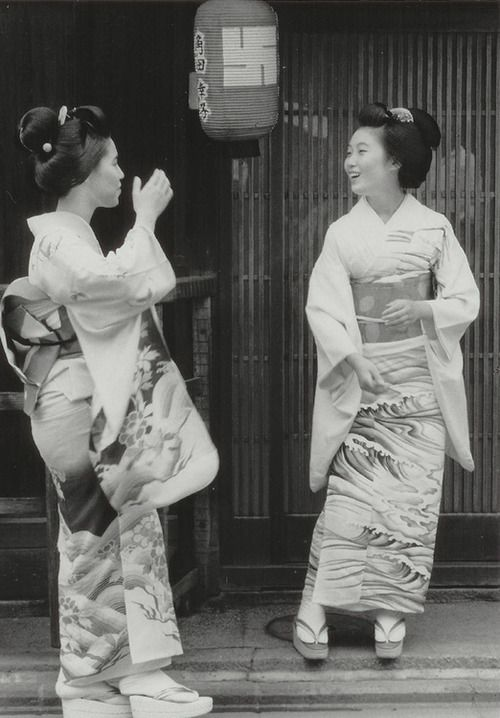 Set 1: About 1950's, Japan.  Photography by Kiichi Asano (1914 - 1990)