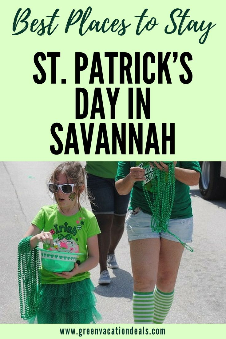 St Patricks Day Savannah GA - Want to celebrate St. Patrick's Day in Savannah Georgia? Find out 3 great Savannah hotels that will have you right in the middle of St Patrick's Day celebrations, and why you'll have such a good time in Savannah on St. Patrick's Day! Savannah Travel Ideas #StPatricksDay #Savannah #Hotels #CityMarket #Riverstreet #HistoricDistrict #Riverfront #Georgia #savstpats #StPattysDay #Irish