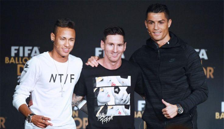 #lionel #messi, #neymar and #cristiano #ronaldo