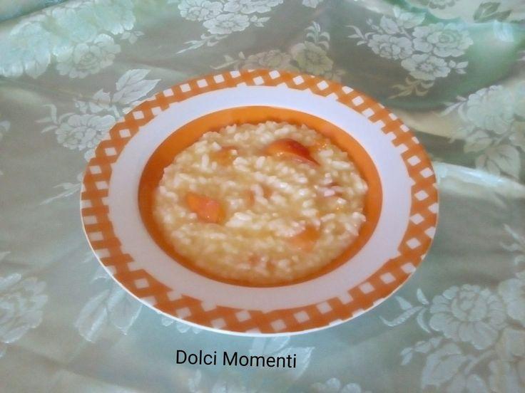Benvenuti nel mio blog oggi vi parlo di una ricetta molto gustosa il risotto estivo all'albicocche. Una ricetta molto particolare