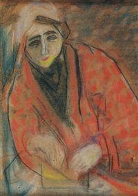 Vajda Julia, Julia Richter (1913-1982) was een Hongaarse schilder en graficus. In 1935 ontmoette zij haar eerste echtgenoot, Lajos Vajda. In die tijd werden zacht lyrische pastels gebruikt op vooral portretten en stillevens.