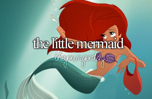the little mermaid.... worst lessen you could get. She had to change herself to get the guy...no thats not right