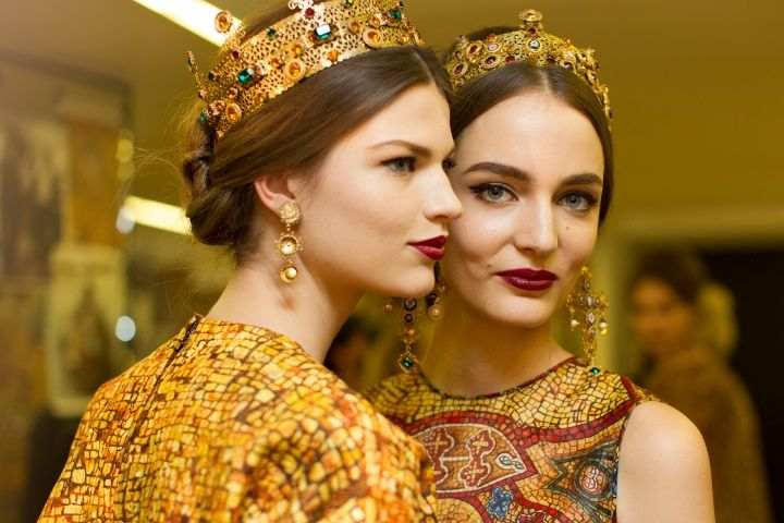 My favorite #makeup for this season by #Dolce&Gabbana
