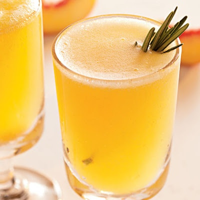 ... Rosemary-Peach Cocktails | Refreshing & Fruity Drinks | Pin