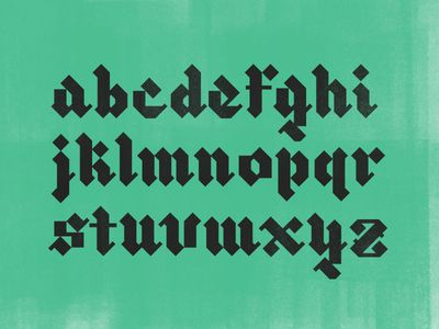 Blackletter XI
