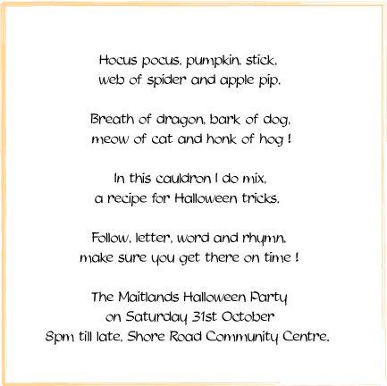 Ms de 25 ideas increbles sobre Halloween invitation wording en