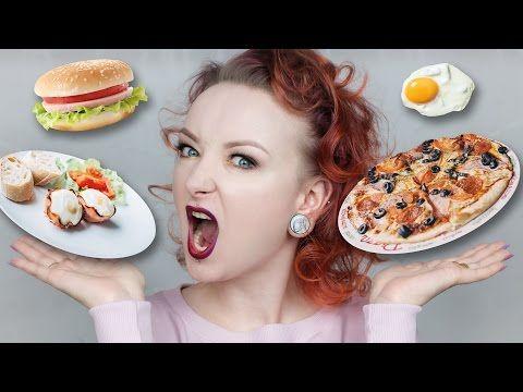 Foodbook: moje zdrowe wege menu na cały dzień! ♡ Red Lipstick Monster ♡ - YouTube
