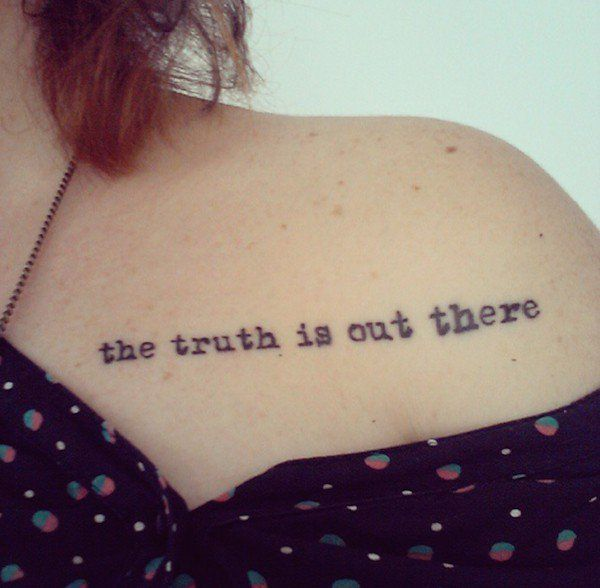 X Files Tattoo Ideas: 125 Best Images About Tattoos On Pinterest