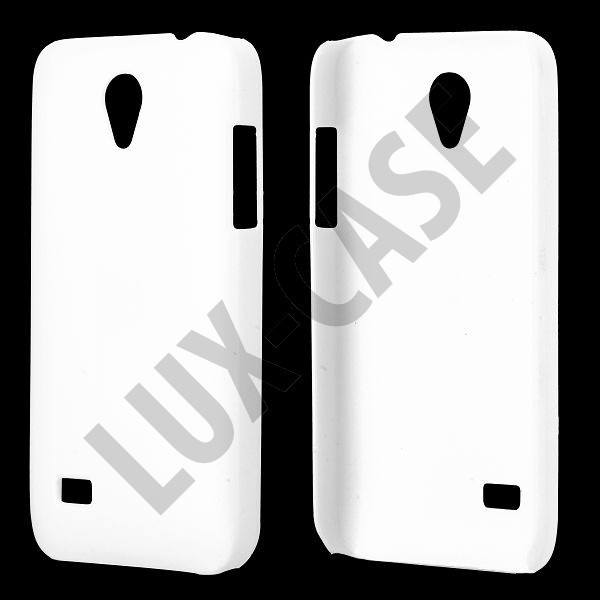 Hard Shell (Hvid) Huawei Ascend G330D Cover