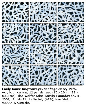 Emily Kame Kngwarreye, Soakage Bore