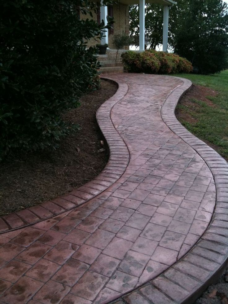 12 best Stamped concrete images on Pinterest  Stamped concrete patterns Brick and Bricks