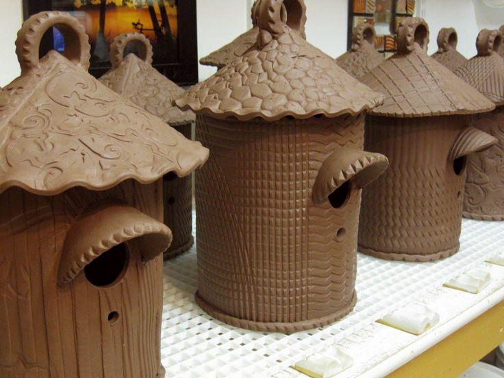Ceramic Bird House Lesson Plan