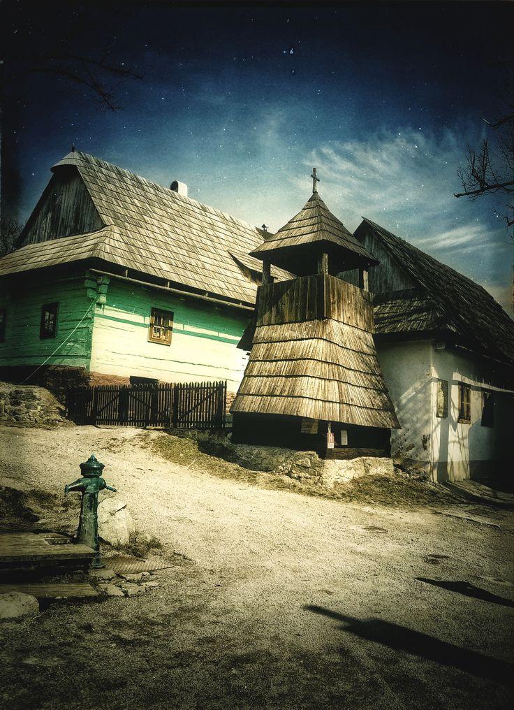 Vlkolinec, Slovakia (UNESCO notificated)