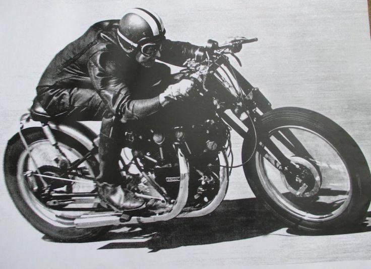 Vincent Black Shadow 1