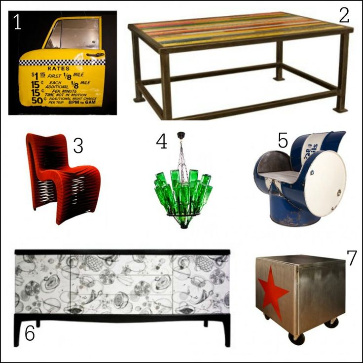 Weird Furniture For Sale Funky Painted Types Of Tables Weirs Bunk