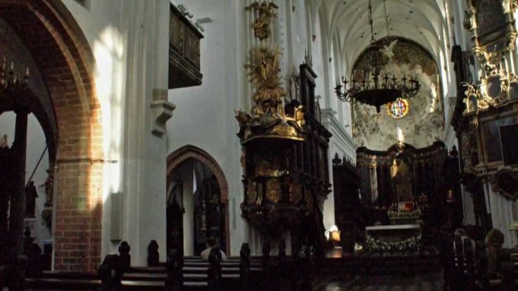 Gdańsk - Katedra w Oliwie.