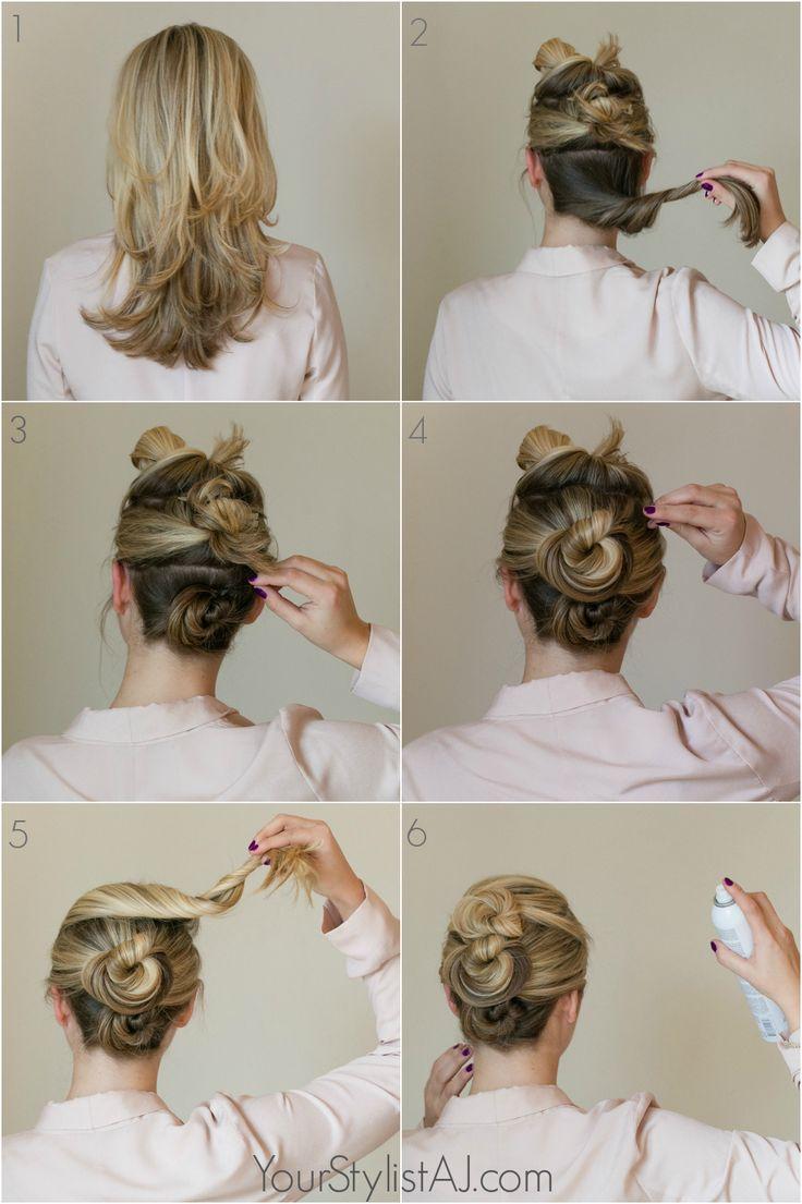 easy fancy bun