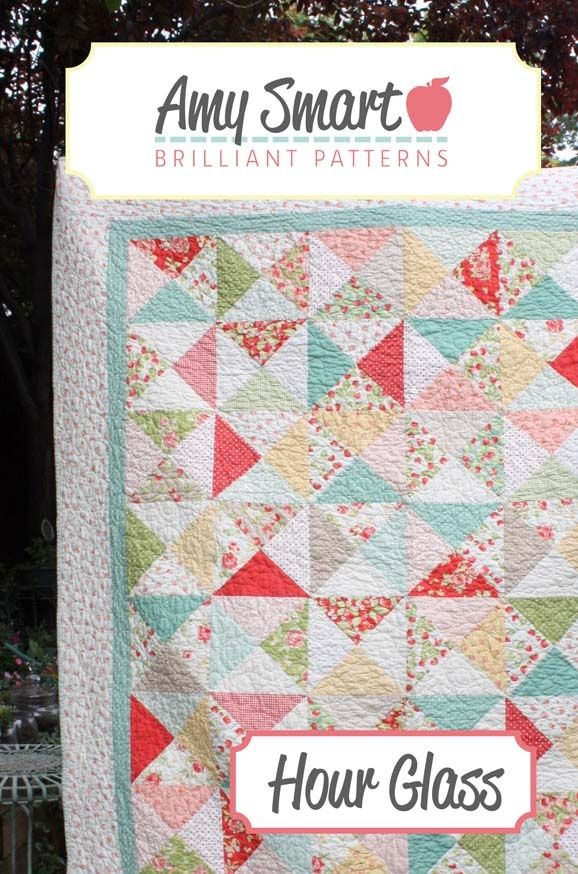 Hour Glass Quilt Pattern by @amyusmart on @GoToPatterns