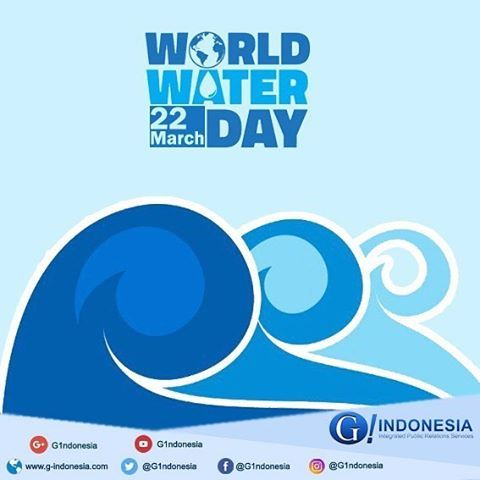 Selamat hari air dunia! Gunakanlah air sebaik mungkin. #worldwaterday #water #hariairdunia #G1ndonesia #G_Indonesia #G_IndonesiaNews #g_1ndonesia #gcommunications #publicrelations #infographic #world #indonesia #teknologi #informasi #nusantara  #socialmediamarketing #socialmedia #instagram #internet #teknologiinformasi