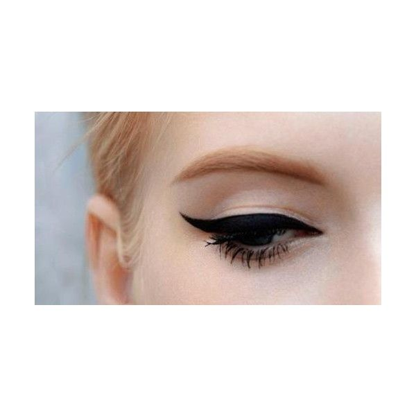 How to Eyeliner aanbrengen Girlscene ❤ liked on Polyvore featuring makeup, eyes, beauty, eye makeup and eyeshadow
