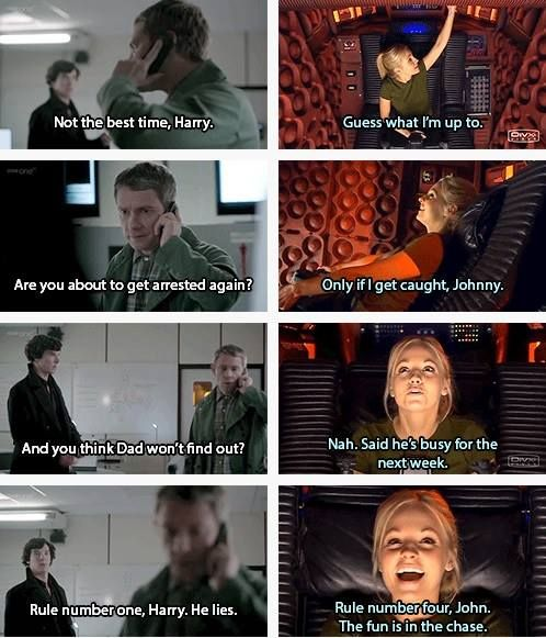 This is one WhoLock that I've never thought of!