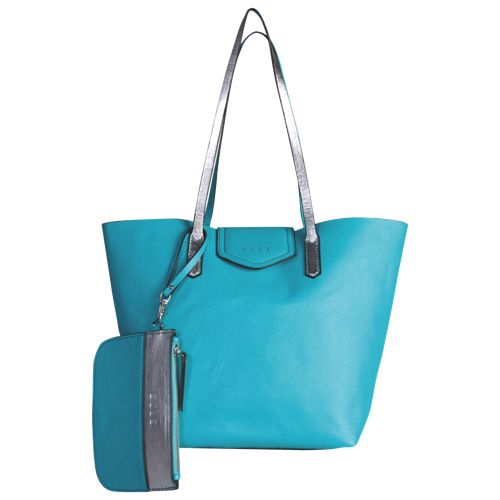 ELLE Open Tote Bag (ELO172AQUA) - Aqua  Everyone needs a new School Bag to start a fresh year. We don't go for the tradition back pack, instead we are in love with this vibrant bag that with suit all our needs. Fashion, style and functionality, it has it all!! @BestBuyCanada or @BestBuyQuebec  PLEASE #SetMeUpBBY