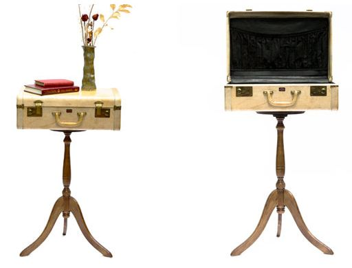 Toronto woodworker/artist Jennifer Rong, Suitcase #art #home #design #recycled #upcycled #wood #toronto