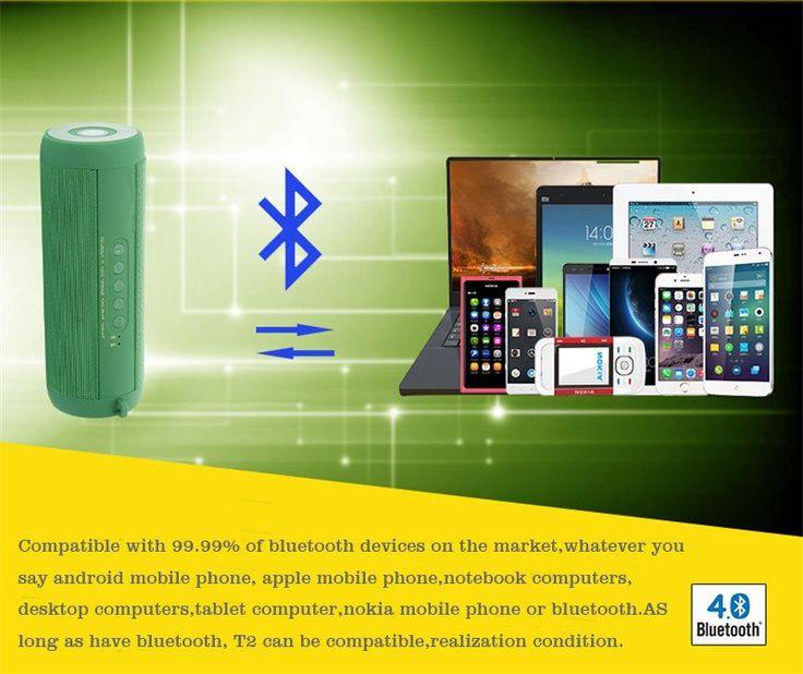 Wireless Bluetooth Speaker Waterproof Portable Outdoor Mini  Loudspeaker