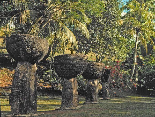 Latte Stone Park, Guam USA