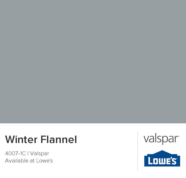 Winter Paint Colors: Winter Flannel From Valspar