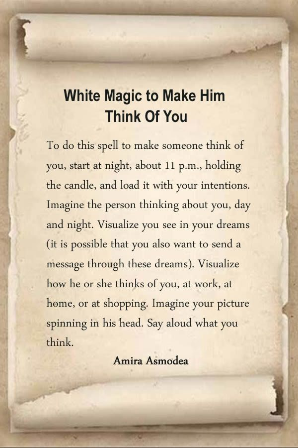 Spells to make a man love you