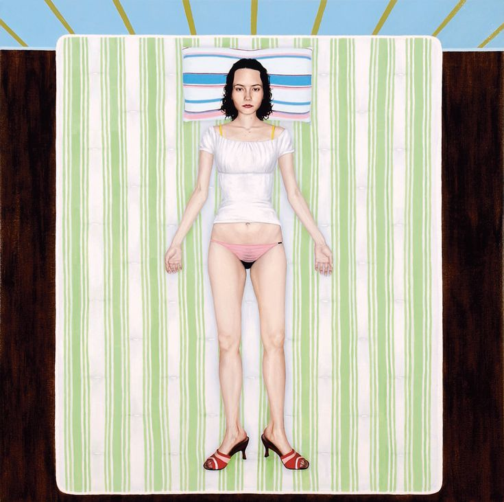 Babe-Suicide-oil-on-canvas-40-x-40-inches-2002