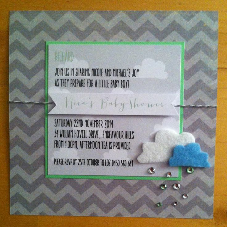 Nicas Baby Shower Invite - can be purchased on Etsy. https://www.etsy.com/au/listing/207192156/baby-shower-invitation-boy-design-with?ref=shop_home_active_5