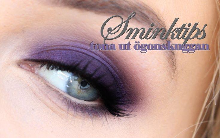 SMINKTIPS - Så här tonar du ut en ögonskugga, av hiilen