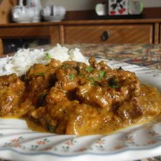 Leftover Lamb Curry